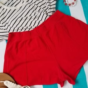 Fashion Bug Stretch shorts, 1 back pocket.